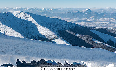 View from Tatras - View from Low Tatras