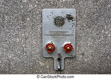 Standpipe connectors - Metal fire department standpipe...
