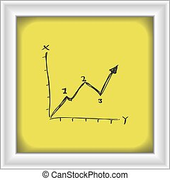 Simple doodle of a line chart