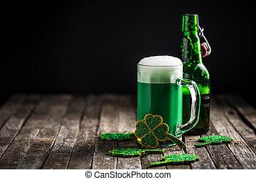 St Patricks day holiday celebration, lucky concept