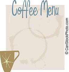 Coffee Mnu