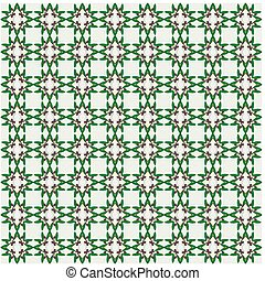 Olive green seamless pattern.