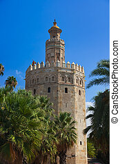 Tower of Gold in Seville Spain