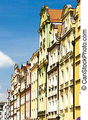 plac, Ratuszowy, fyrkant, Jelenia, Gora, Silesia, Polen,