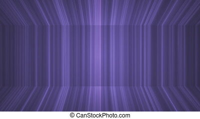 Broadcast Vertical Hi-Tech Lines Passage, Purple, Abstract, Loopable, HD