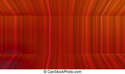 Broadcast Vertical Hi-Tech Lines Passage, Red, Abstract,...