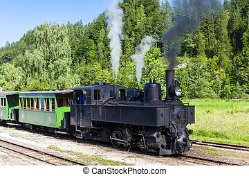 steam train, Lunz am See, Lower Austria, Austria