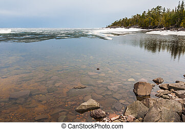 Lake Superior near Pancake Bay in northern Ontario