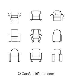 Sofa Outline Set