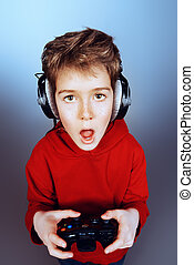 young gamer