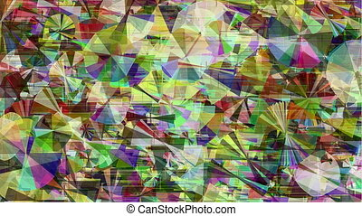 Abstract colorful glitch background - Colorful abstract...