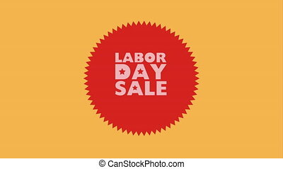 Labor day sale design, Video Animation HD1080