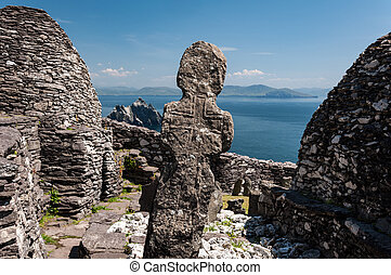 Skellig Michael, UNESCO World Heritage Site, Kerry, Ireland....