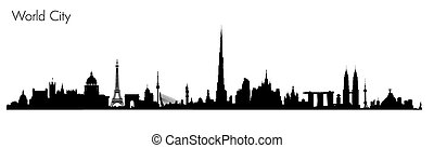 Vector World Monuments - Vector World Monuments. Detailed...
