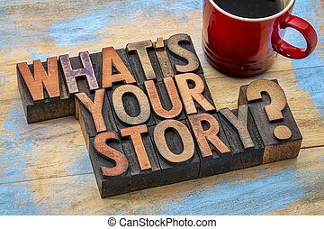 what is you story question