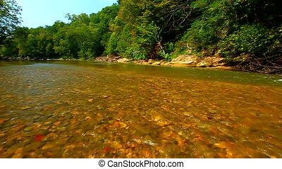 Shades State Park Sugar Creek - Sugar Creek runs through the...