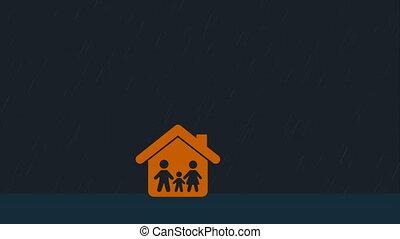 Family icon design, Video Animation HD1080