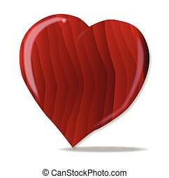 Clip Art Vector Of Wood Grain Heart Wood Grain Texture