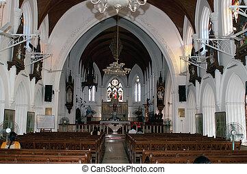 San Thome Basilica Cathedral / Church in Chennai (Madras),...