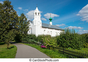 Belfry in the intercession convent at Suzdal - Belfry in the...