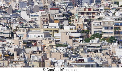 quot;Apartments of Athens, Greece, Timelapse, 4kquot; -...