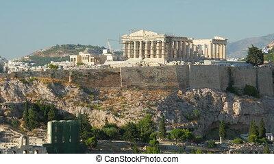 quot;Acropolis, Athens, Greece, Timelapse, 4kquot; -...
