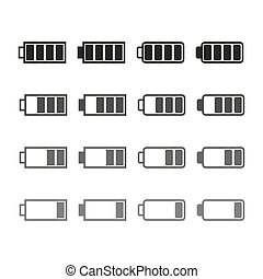 Icon battery charge level