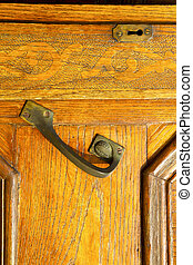 in the travedona monate brown knocker a door curch - in the...