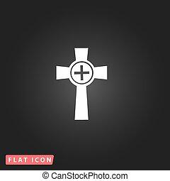 Tombstone - cross gravestone icon - Tombstone - cross...