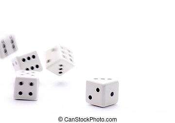 release of five dice