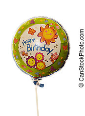 生日,  ballon, 愉快