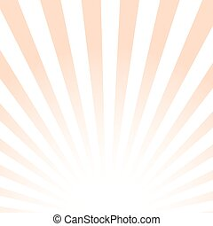 Vector sun light background. Striped abstract pattern.
