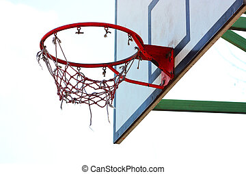 basketball hoop taken in Kiev