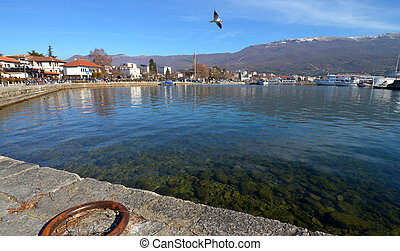 Lake Ohrid, Macedonia - Picture of an Lake Ohrid, Macedonia....