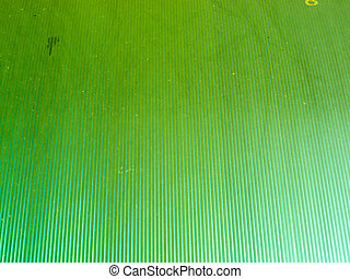 Roof polycarbonate light green color