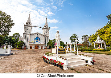 church of Saint Anna Nong Saeng at Nakhon Phanom, Thailand