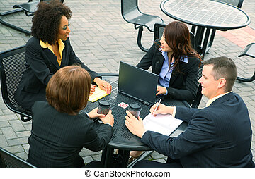 Group Of Business People - group of diversity business...