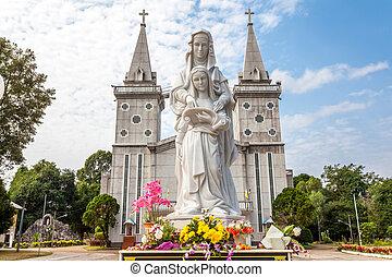 church of Saint Anna Nong Saeng at Nakhon Phanom, Thailand