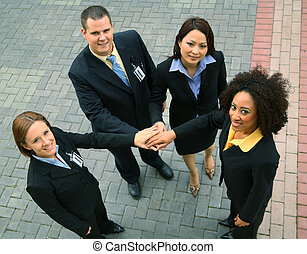 Group Of Successful Business People - group of diversity...