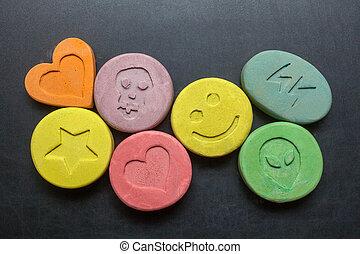 êxtase, pílulas,