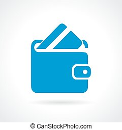 Wallet icon - Wallet vector icon