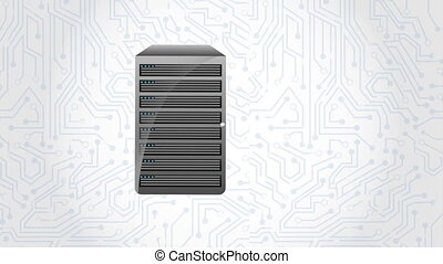 web hosting design, Video animation HD1080