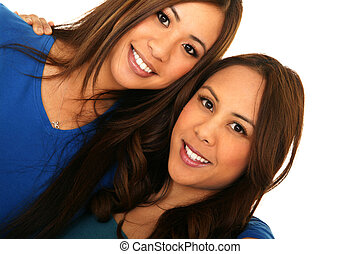 Beautiful Sisterhood 2 - portrait of two beautiful sisters...