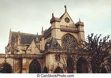 Paris,  l'auxerrois,  saint-germain, igreja