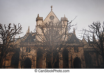 The, Church, of, Saint-Germain, l'Auxerrois, Paris