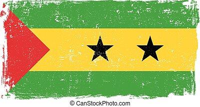 sao tome and principe grunge vectoreps - Sao Tome and...