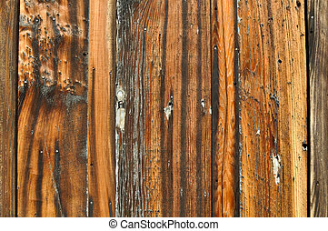 Burned Wood Grunge Background
