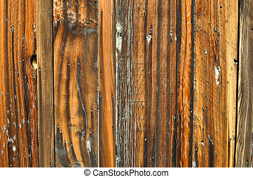 Burned Grunge Wood Background