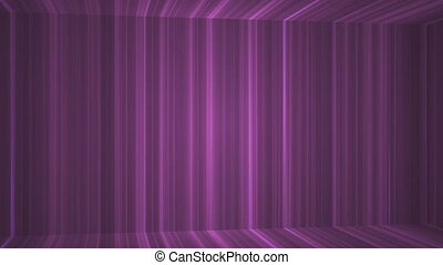 Broadcast Vertical Hi-Tech Lines Passage, Purple, Abstract,...