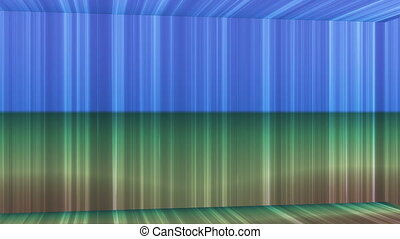 Broadcast Vertical Hi-Tech Lines Passage, Multi Color, Abstract, Loopable, HD